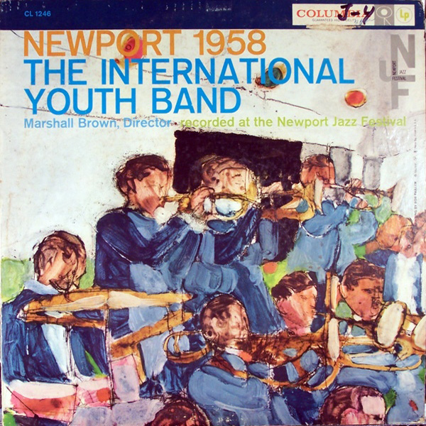 The International Youth Band ‎– Newport 1958
