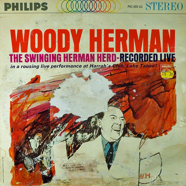 Woody Herman ‎– The Swinging Herman Herd Recorded Live