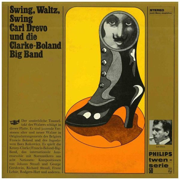 Carl Drevo Und Die Clarke-Boland Big Band ‎– Swing, Waltz, Swing