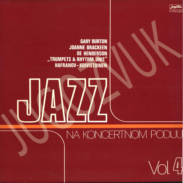 Jazz Na Koncertnom Podiju Vol. 4
