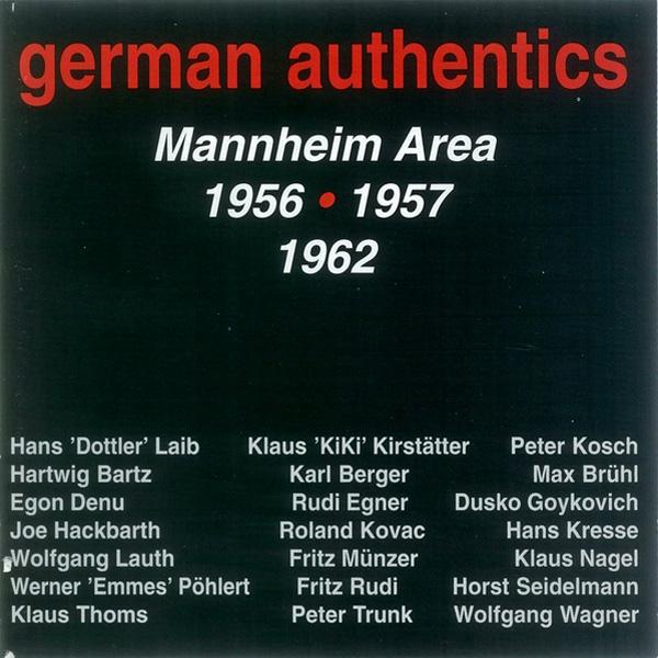 German Authentics – Mannheim Area – 1956-1957-1962
